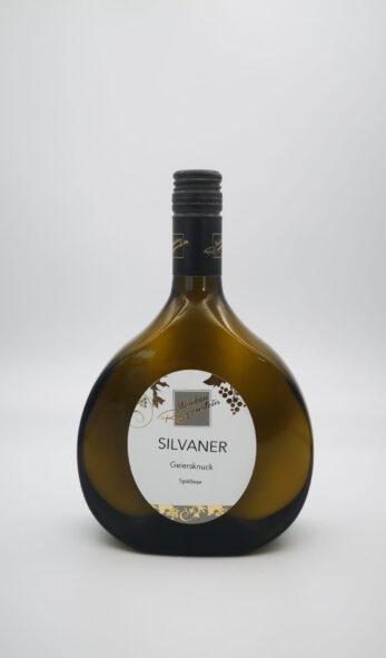 2019 SILVANER Geiersknuck Spätlese 0,75 l